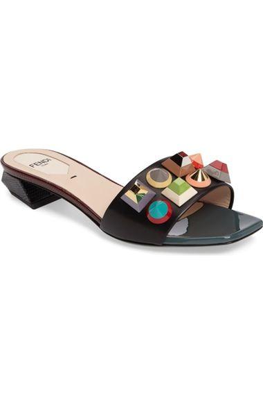 bb3502b6e3e2 Fendi Stud Rainbow Slide Sandal (Women) available at  Nordstrom ...