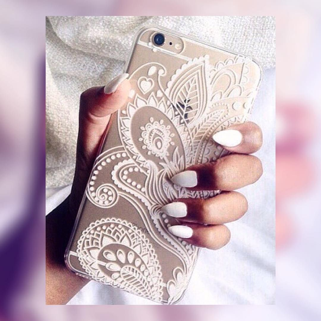 Doesn't your phone deserve to dress up too?  €8 #MandalaCase  Available in black and white
