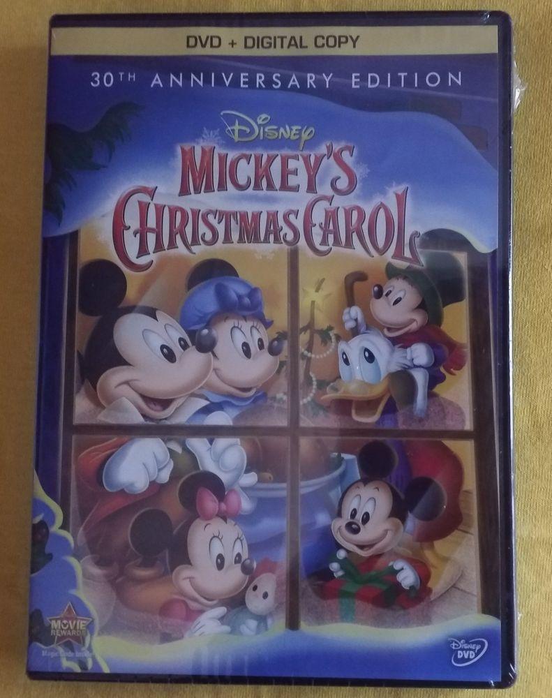 Mickeys Christmas Carol Dvd.Mip Mickey S Christmas Carol 30th Anniversary Special