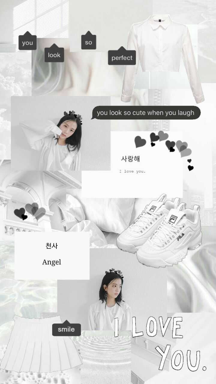 Jisoo White Collage Aesthetic Wallpapers Blackpink Jisoo Kim Jisoo Kim Jisoo Wallpapers Kim Jisoo Collage Wallpapers Kim Jiso Fotografi Gambar Selebritas