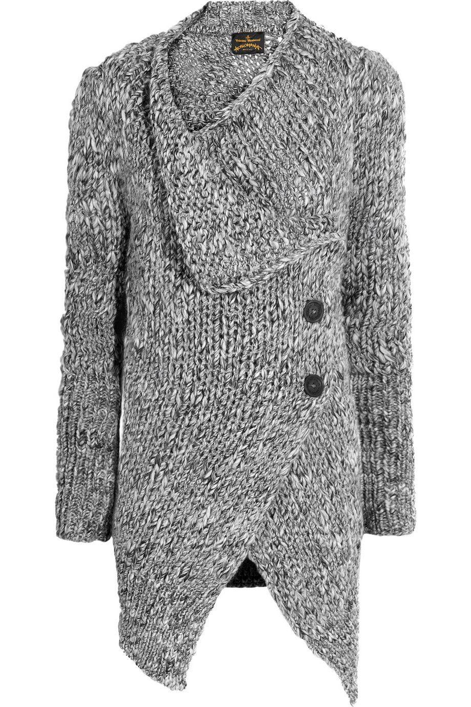 Vivienne Westwood Anglomania|Concordia wool-blend cardigan|NET-A-PORTER.COM