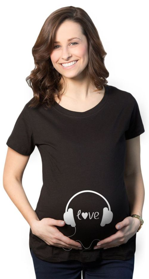 d83a3469fee16 Black and Blue Pregnant Women Funny Shirt Maternity Tee Tops Cotton summer maternity  shirts funny cute pregnant shirts. Yesterday's price: US $14.79 (12.27 ...