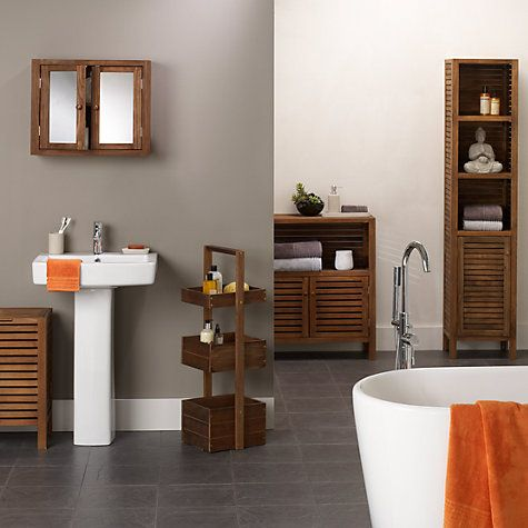 Buy John Lewis Jakarta Bathroom Furniture Range Online At Tower Tiered