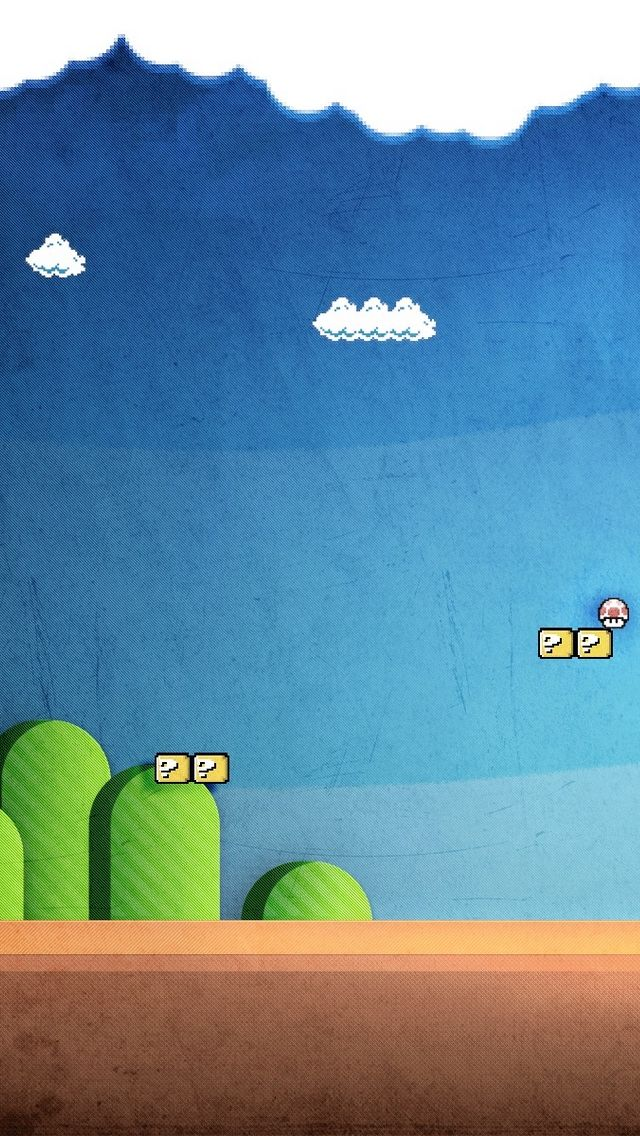 Mario Land Iphone 5 Wallpaper Super mario wallpaper
