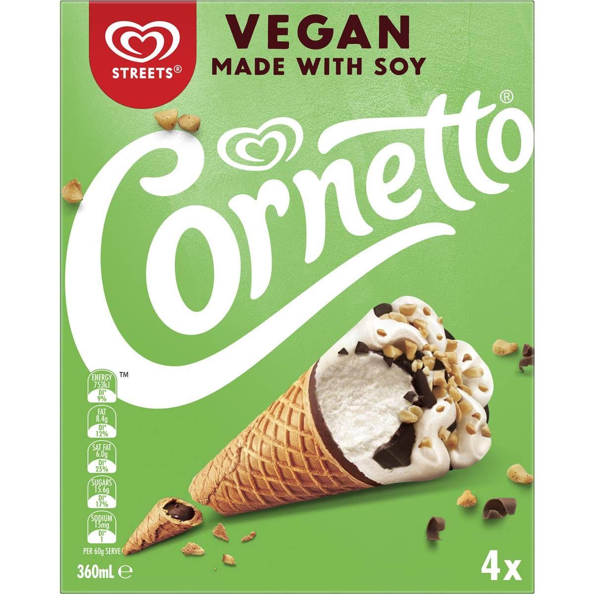 Streets Vegan Cornetto 4 Pack Vegan Cornetto Recipe