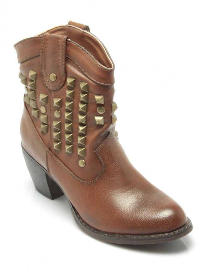 Mikka Studded Biker Boot at Stylistpick, £55. ♥