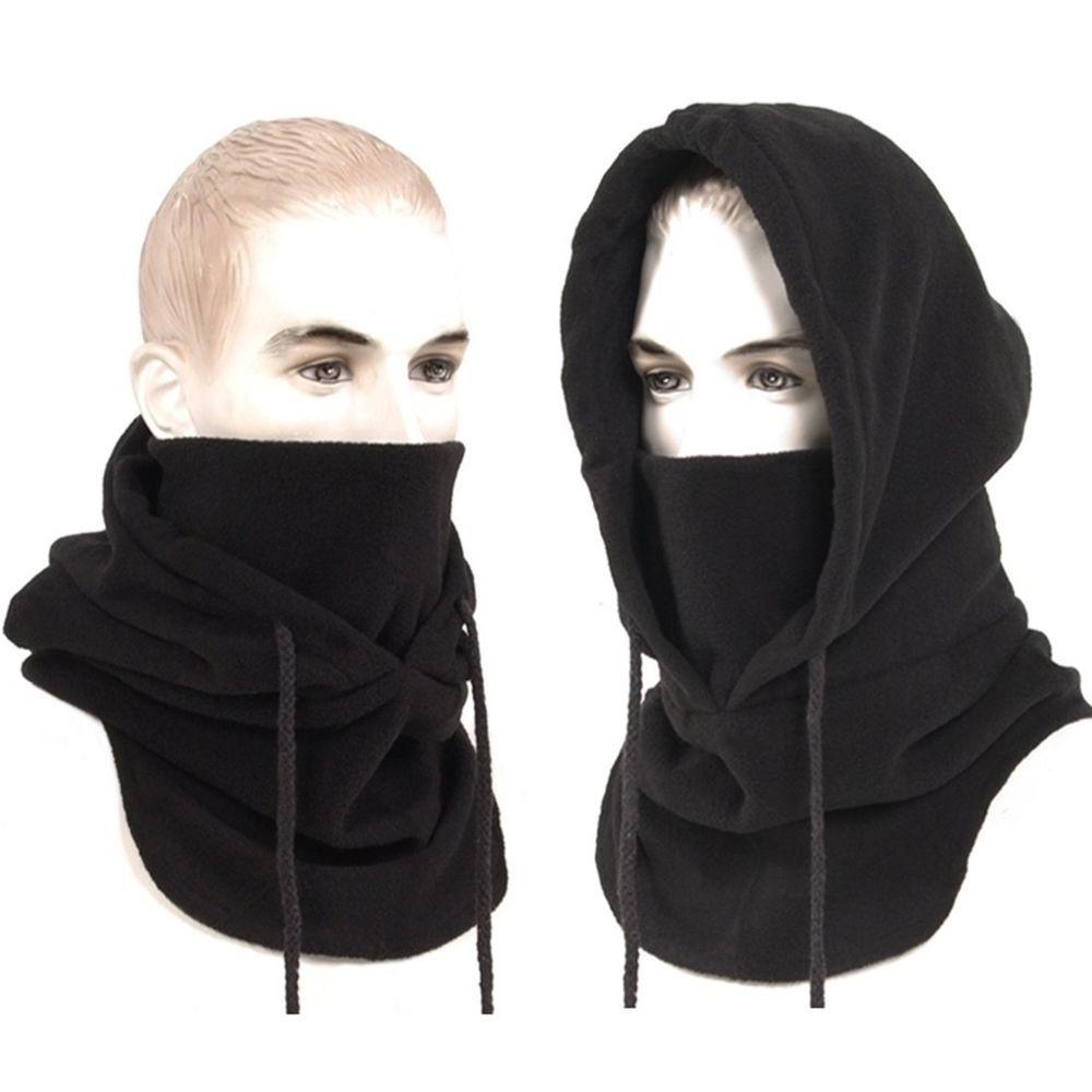 Full face mask neck warmer hood balaclava outdoor winter sports hats - New Black Tactical Balaclava Full Face Outdoor Sports Mask Us