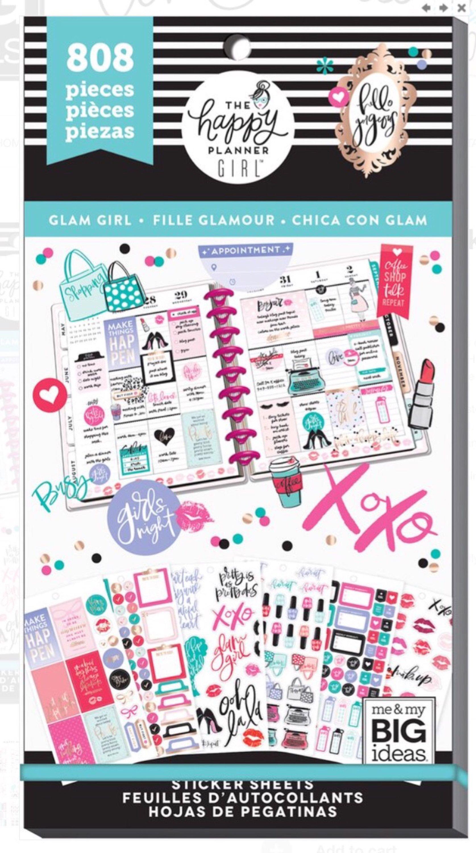 16aeebbdd96 Happy Planner Girl Sticker Book