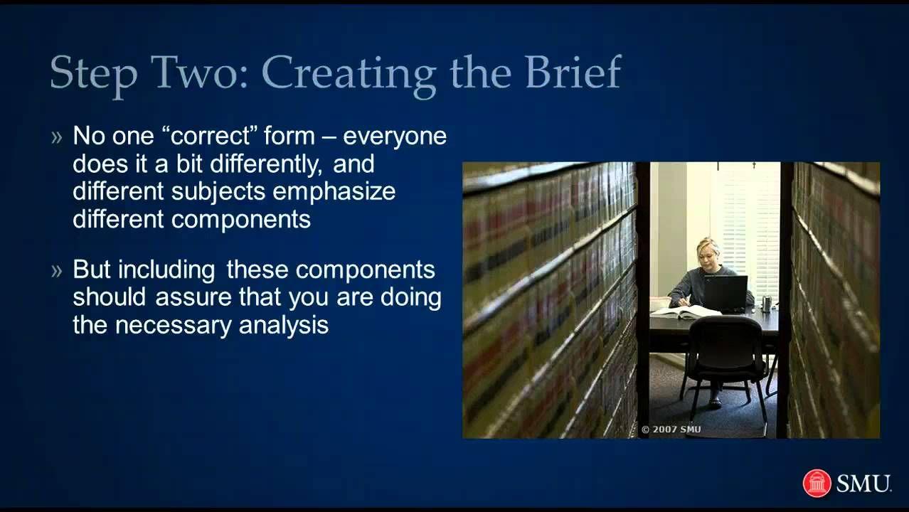 Law School How to Brief a Case Law school