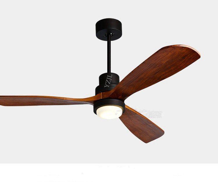 Pas cher Nordique ventilateur lustre Américain LED
