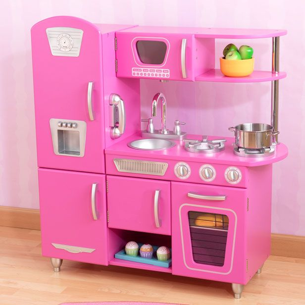 Good Play Kitchens For Kids Pink Color