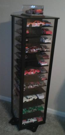 Cool Way To Display Nascar Diecast Collection For My Manly Man