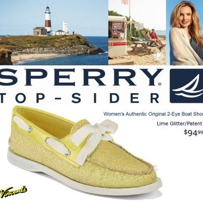 Sperry Top-Sider..yum lemon sparkles... just $94.99  now at Vincent's