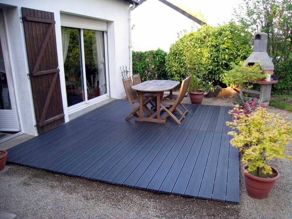 Terrasse Composite Mon Avis Un An Plus Tard Entretien Et Vieillissement Terrasse Composite Terrasse Terrasse Bois Composite