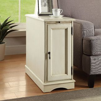 199 99 12 Wide Naya Side Table End Tables With Storage End Tables Furniture Of America