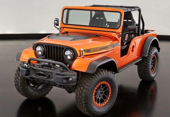 Novo Jeep Cj66 Combina 3 Geracoes Do Antigo Willys E Wrangler