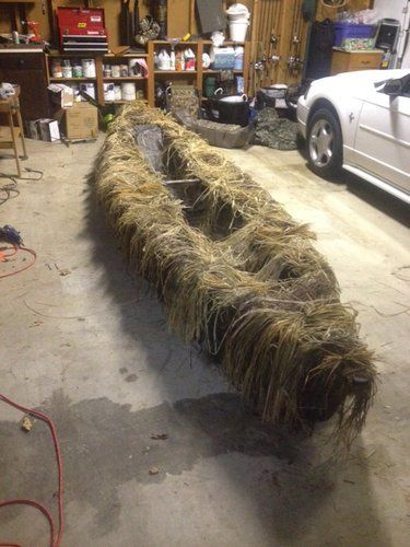 Light Canoe Rigged As Duck Boat Fins Feathers Amp Fur