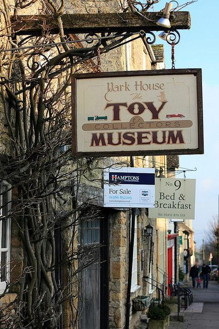 Toy Museum in Stow-in-the-Wold, Cotswolds