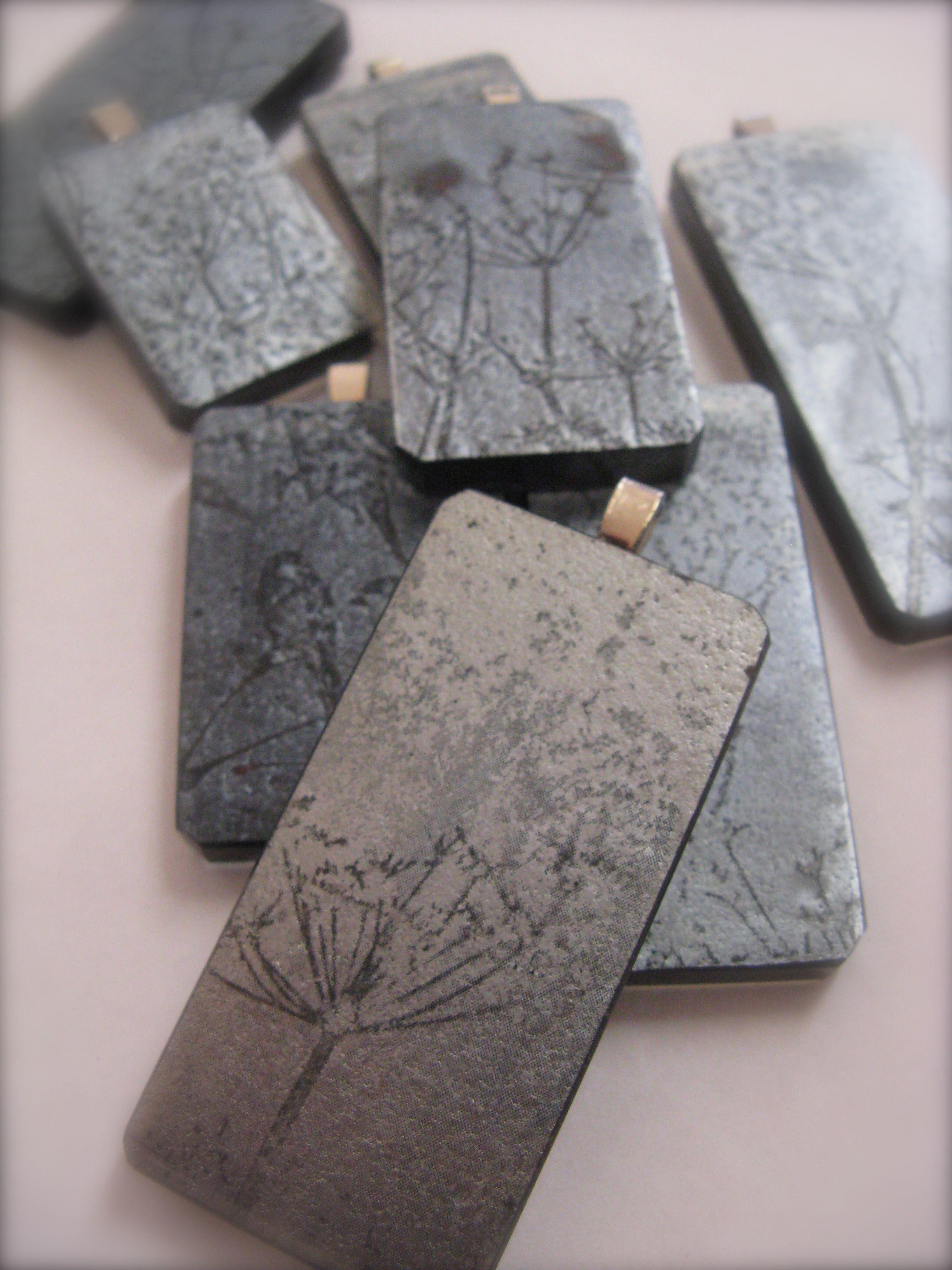 Jewellery photographic imagery kiln worked glassmark