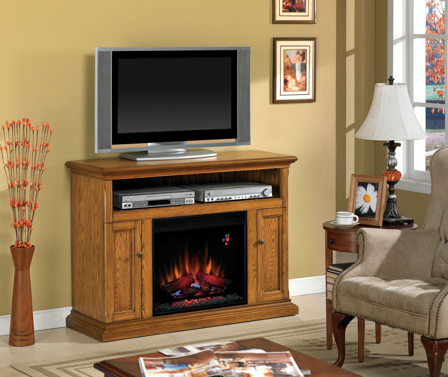 Classicflame Cannes Electric Fireplace Twin Star Home Gallery