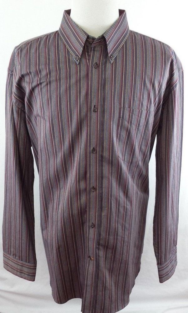Northern Isles Mens XXL 2XL Button Front Long Sleeve Cotton Shirt GREAT COLORS!  #NorthernIsles #ButtonFront