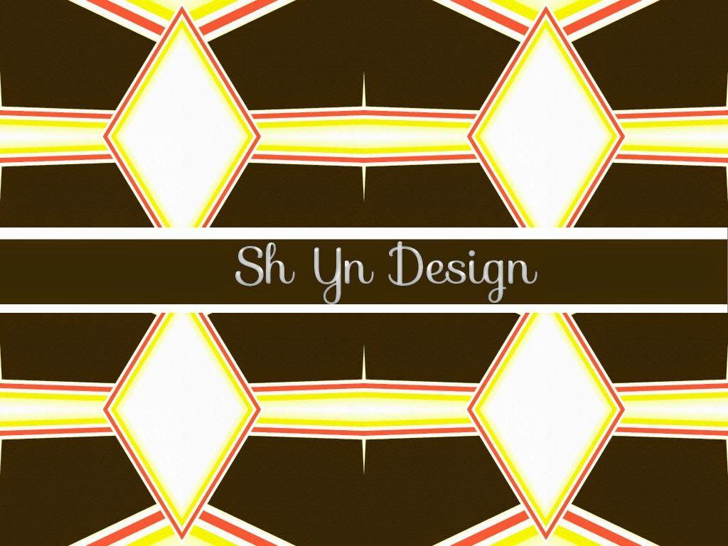Diamond Pattern 404 Dark Brown And Bright Yellow
