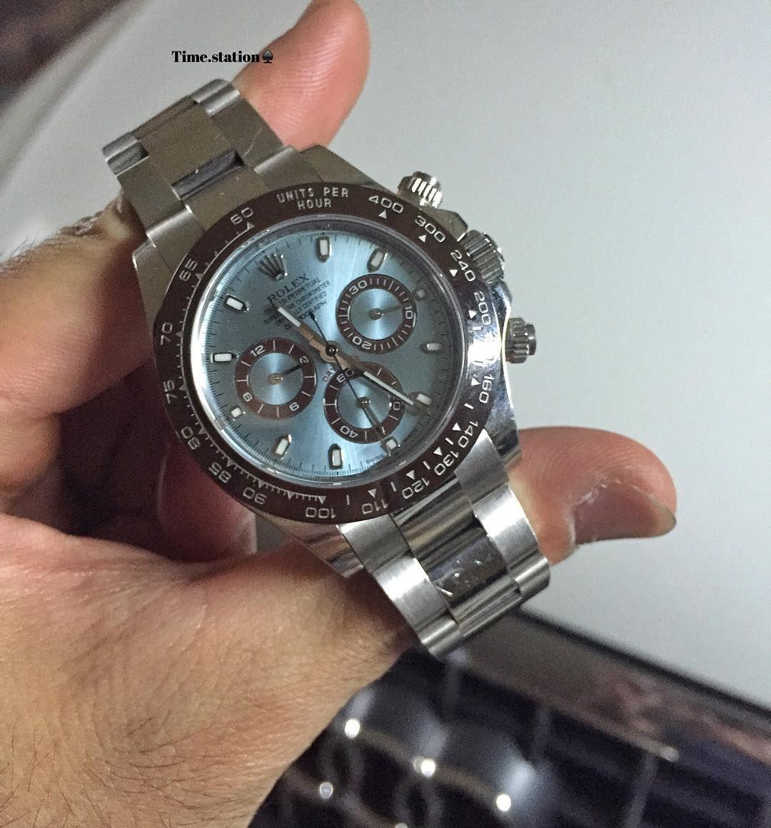 Rolex Daytona Platinum Ice Blue