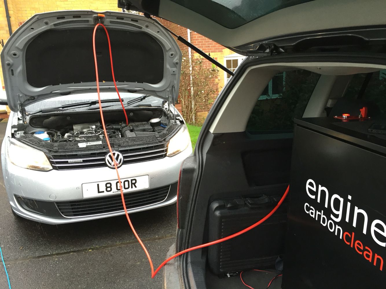 Clearing a blocked egr valve on a tdi touran