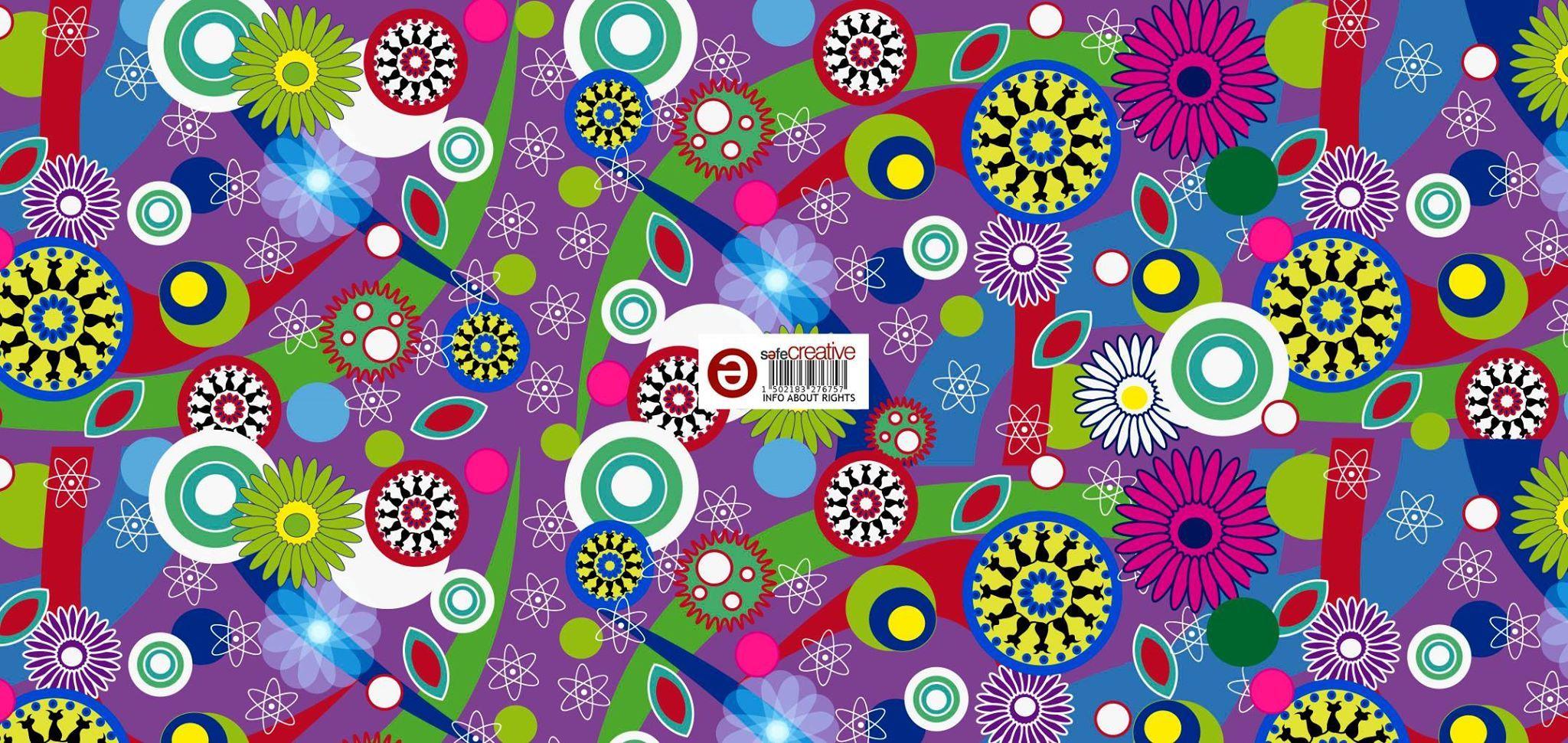 Nueva tela estallido de color para nuevas creaciones  www.lascosasdeglori .es