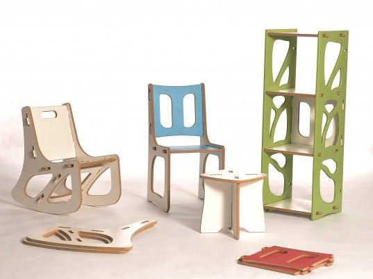 Gypsy Modular Customizable Flat Pack Furniture That Uses No