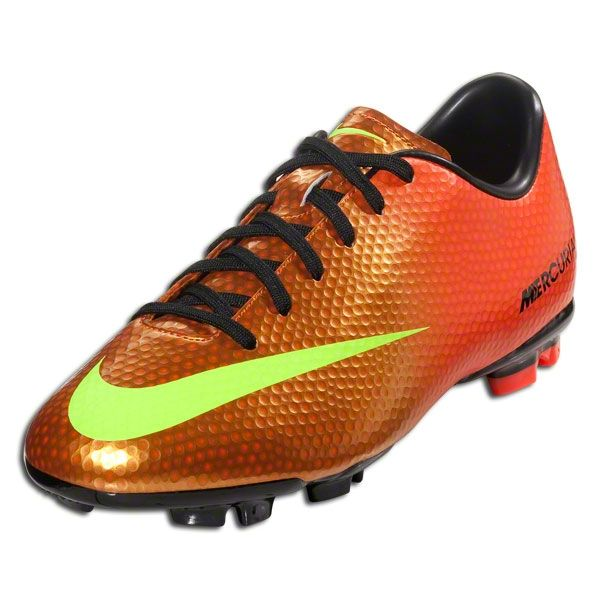 Nike Junior Mercurial Victory IV AG Soccer Shoes-Sunset