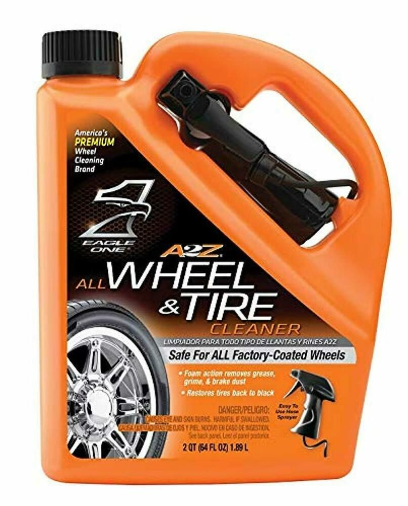 Details about a2z all wheel tire cleaner removes grease