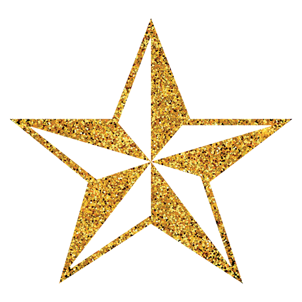 Free Download High Quality 3d Gold Star Png Transparent Background Gold Grains Star Png This Is Vector Golden Star Png Icon Image It Can Be Used In Making Whi