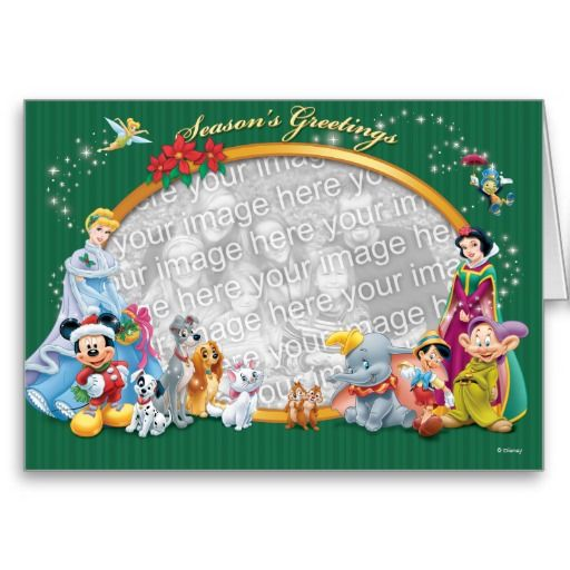 Disney Classics: Season's Greetings Card Greeting Card