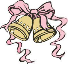 june wedding clip art wedding clip art wedding bells and bridal rh pinterest com clipart wedding bells free free clipart images wedding bells