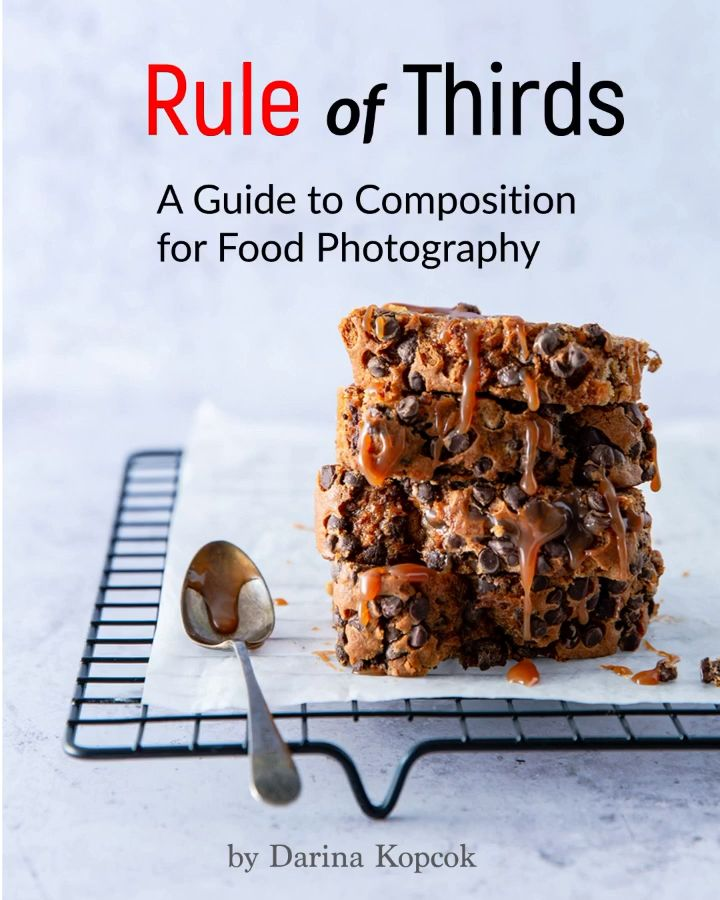 Featuring 42 composition templates to inspire your food photography.