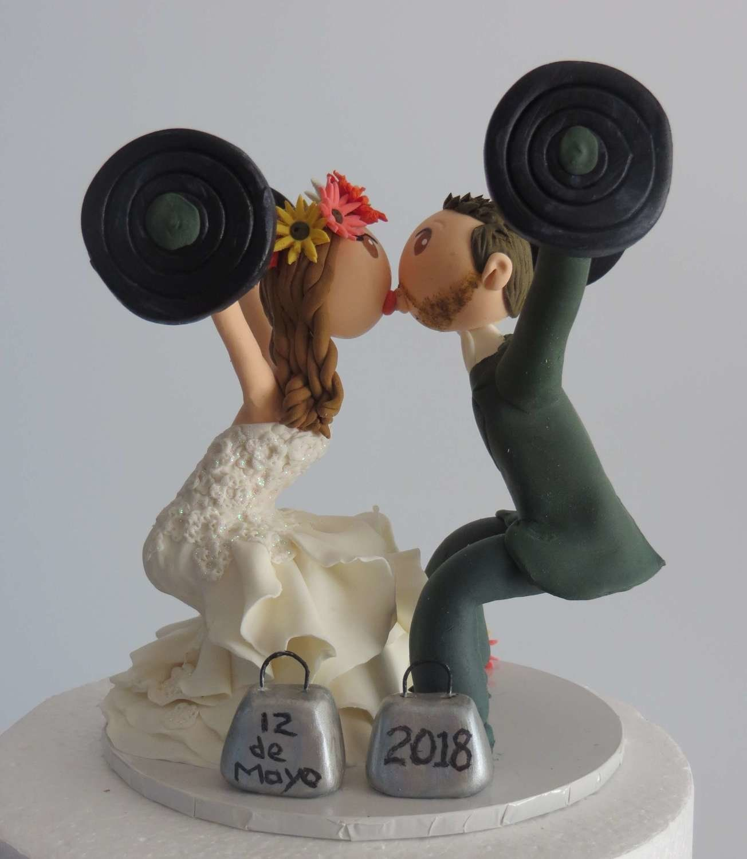 c9af076bfb Crossfit Couple on Base board(4 - 6 weeks required) | Wedding ...