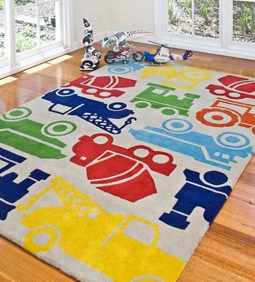 Fun Rug Kids Room Rug Boy Toddler Bedroom Area Room Rugs
