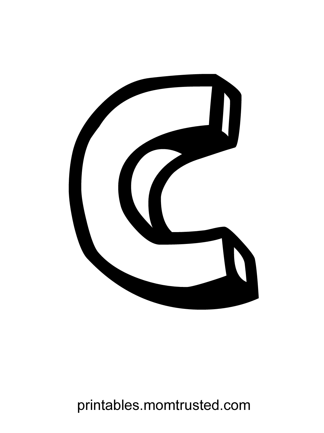 A Red Letter C