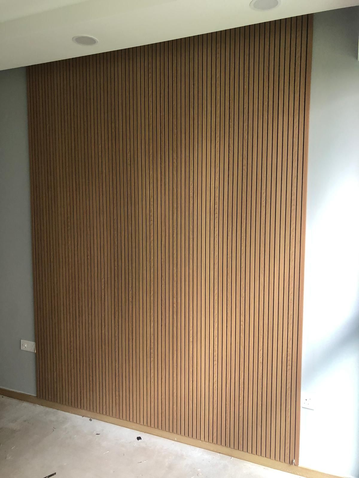 Fluted Black Line In 2021 Feature Wall Design Wall Paneling Wood Plastic Composite