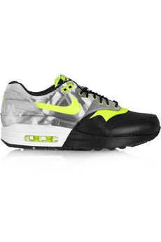 brand new c8093 a5409 Nike + Flavio Air Max 1 leather and mesh sneakers   NET-A-PORTER