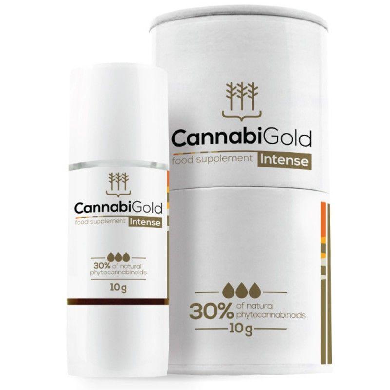 CannabiGold Intense 30% 3000mg CBD Oil Drops - Hemp Extract