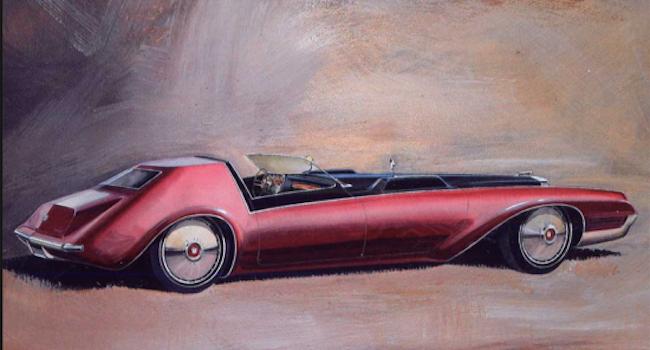 Caddy V16 rendering by Wayne Kady (courtesy Deans Garage