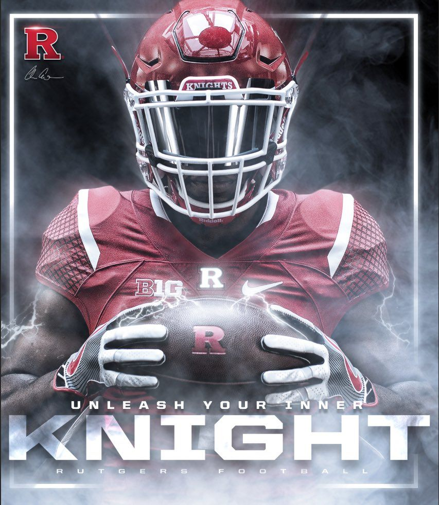 Rutgers Sports Design Inspiration Football Poses Sports Design