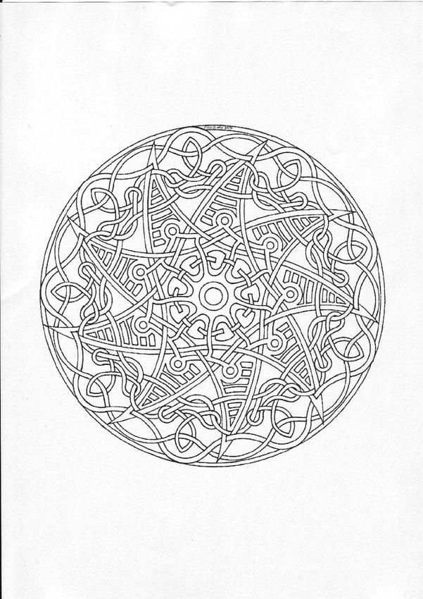 Free Printable Mandala Coloring Pages Mandala 96 Worksheet