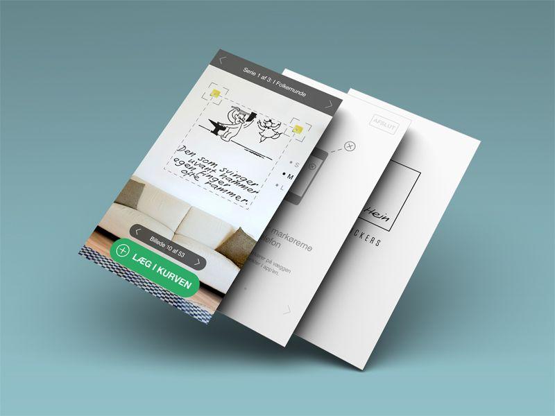 Piet Hein App Mockup Web App Design App Design App