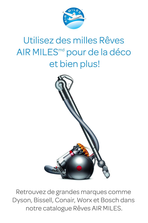 Utilisez des milles Rêves AIR MILES pour de la déco et