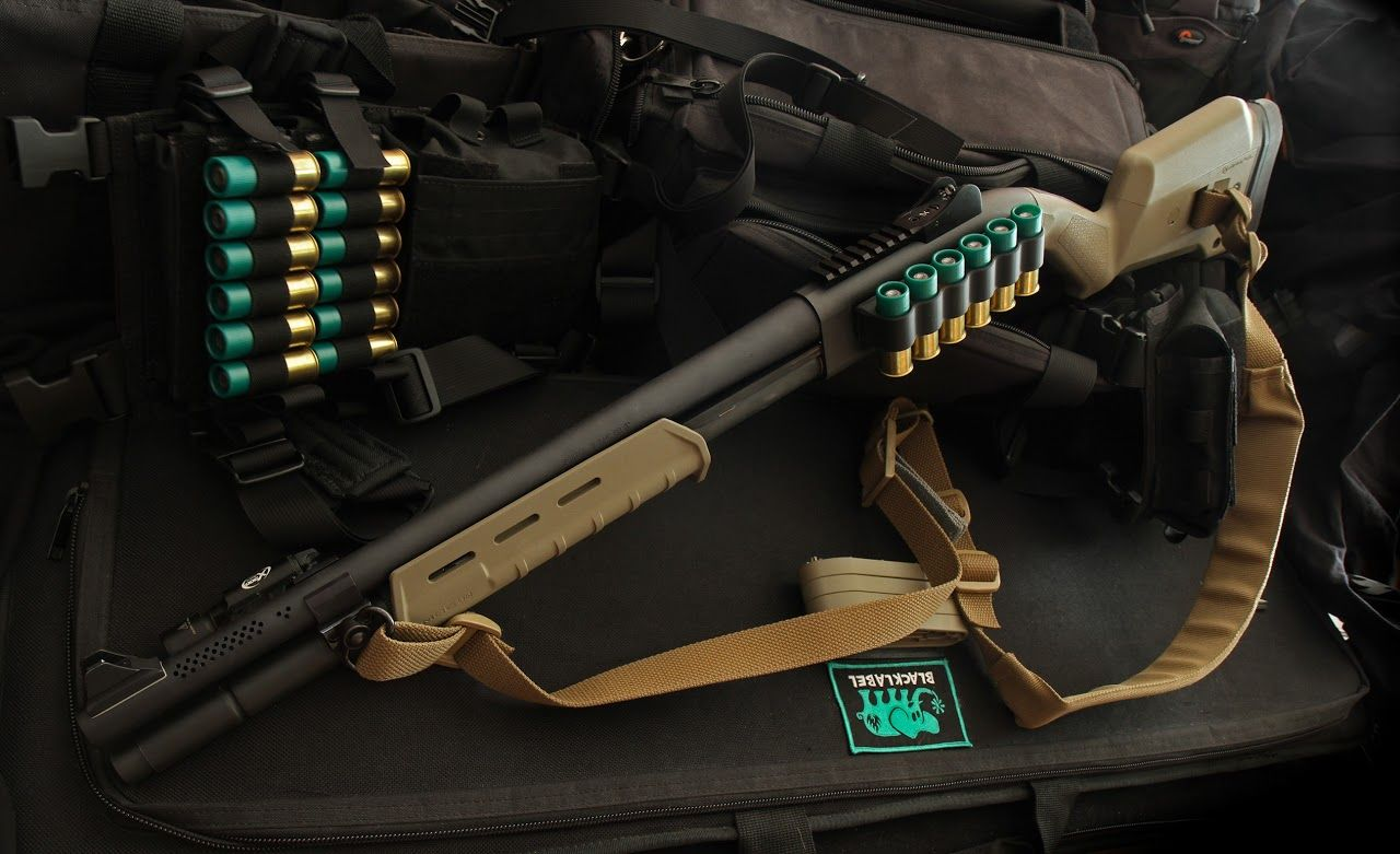 Remington 870 With Magpul Moe Furniture Ammo Pinterest Shotgun Pin Parts List Tactical Upgraded Extractor Vang Comp On