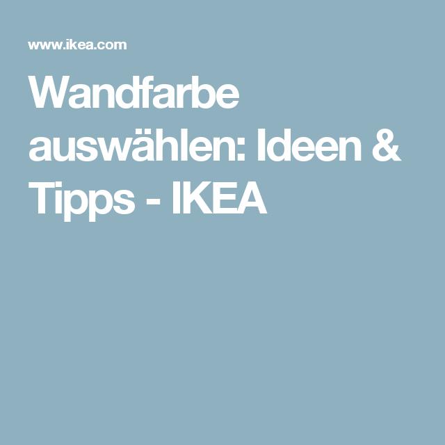 Wandfarbe auswählen: Ideen & Tipps - IKEA
