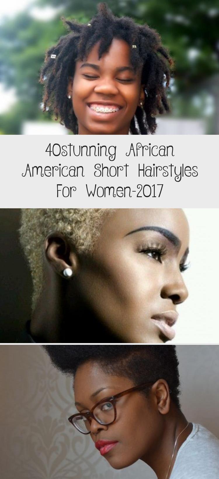 女性のための40の見事なアフリカ系アメリカ人ショートヘアスタイル